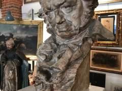 Escultura atribuida a Mariano Benlliure