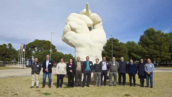 Miembros del consorcio europeo FotoH2