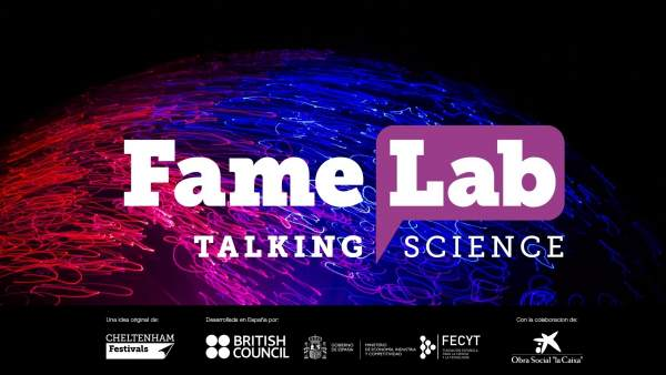 Cartel de FameLab
