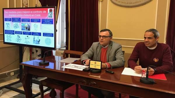 Juan Canterio, concejal del PSOE de Cádiz