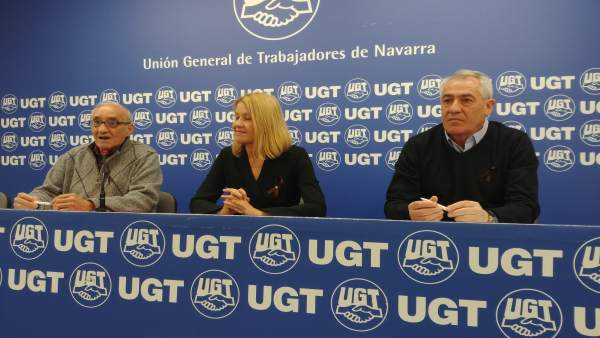 Asamblea de delegados de UGT Navarra sobre el sistema de pensiones