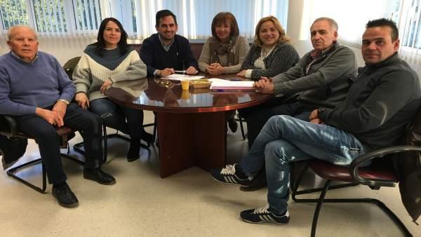 Reunión del proyecto Solidaridad entre montañas