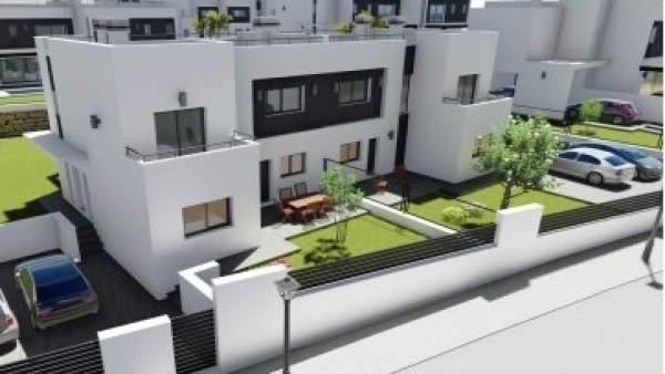 Retamar II urbanización casas retamar unifamiliares viviendas lujo 2020