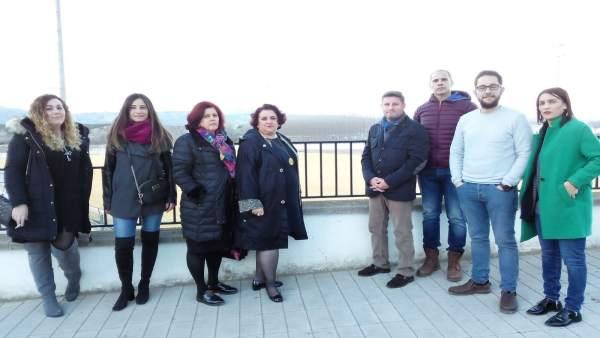 Reunión del PSOE en Láchar