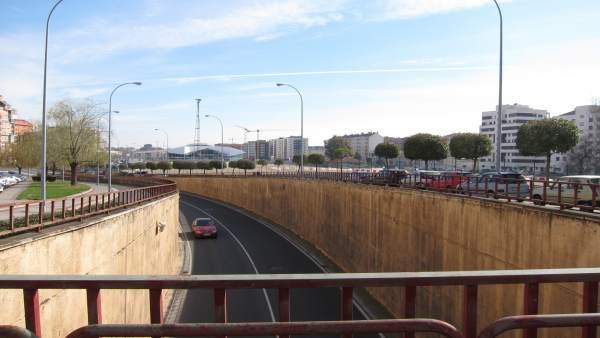 Túnel de Duques de Nájera que se va a derribar