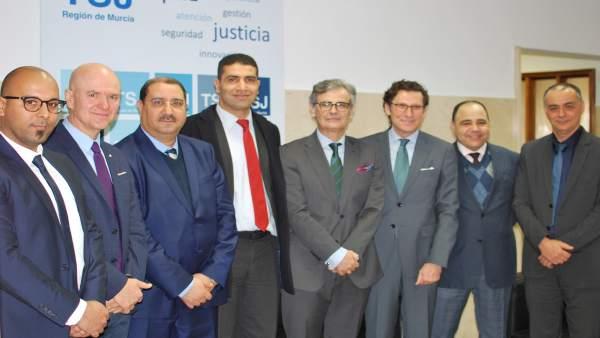 Ndp Tsjmu Visita Delegación Jueces Túnez