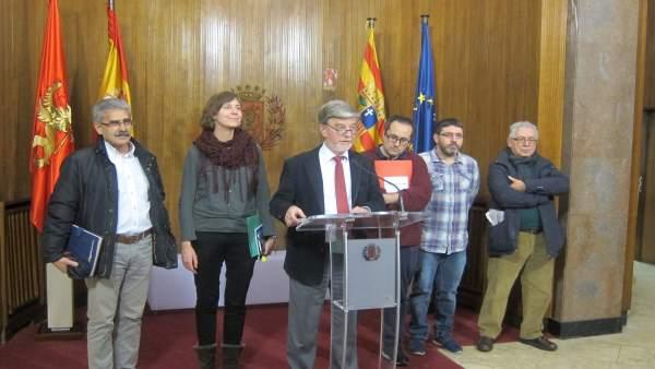 Santisteve, este jueves junto a Cubero y Artigas en el Ayuntamiento