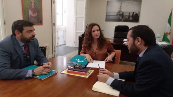 Reunión Junta con Fundación Bertelsmann