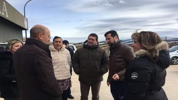 Tudanca visita Ágreda (Soria)