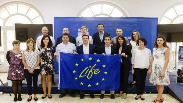 El Proyecto 'Life + Alchemia' es una iniciativa pionera en Europa.