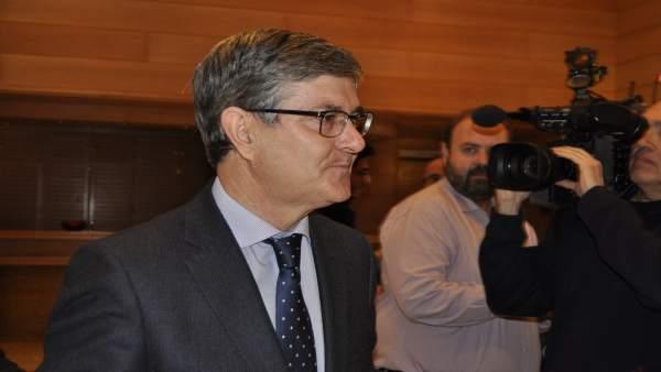 Vicente Guillén es el consejero de Presidencia de Aragón.