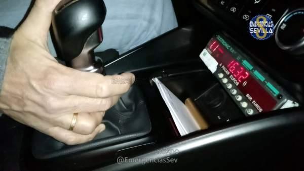 Operación de la Policía Local sobre irregularidades en taxímetros