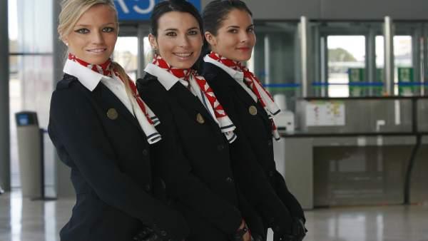Azafatas de Air Nostrum