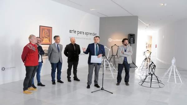 Presentación de la exposición Arte para aprender