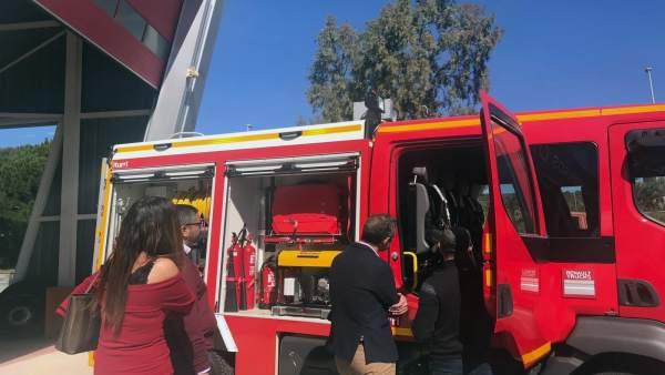 El PSOE critica inversiones en bomberos