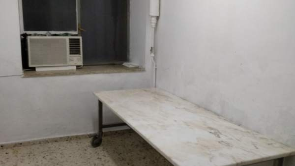 Sala del Doctor Sagaz destinada a mortuorio