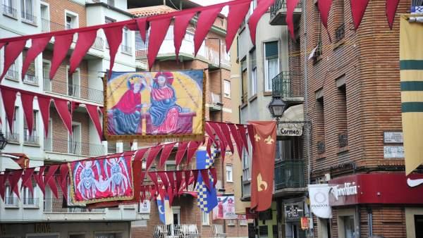Teruel se prepara para la fiesta medieval de los Amantes