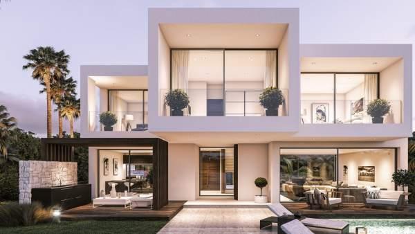 Hpusers villas de lujo residencial inmobiliaria marbella estepona málaga mecenaz