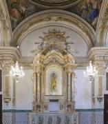 Panoràmica de la capella en l'església de Sant Nicolau