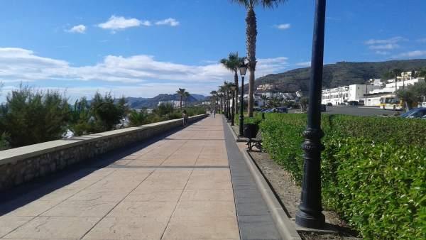 Paseo Marítimo de Mojácar (Almería)