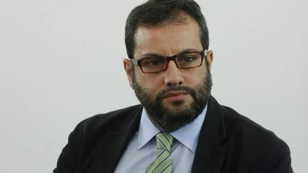 Ibán García del Blanco, secretario de Cultura y Deportes de la Ejecutiva federal del PSOE.