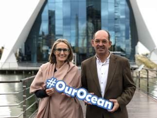 Presentació de la nova campanya #OurOcean de l'Oceanográfic