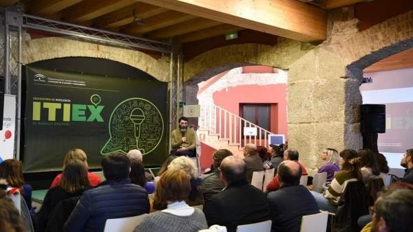 Ponencia empresarial 'ITI_ex' de Andalucía Emprende en Ubrique