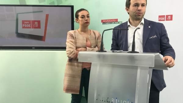 Rueda de prensa de Millán y Gámez