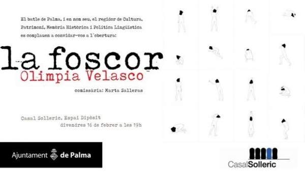 Invitación a la inauguración de 'La Foscor' en el Casal Solleric
