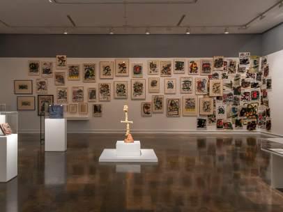 Una panorámica de una de las salas de la exposición 'Joan Miró, orden y desorden'