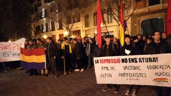 Manifestación Valtonyc