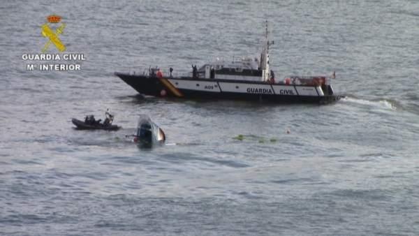 Rescate del buque 'Astelena', en Bermeo