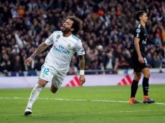 Marcelo hace el tercero