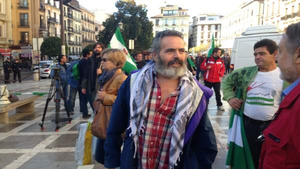 Sánchez Gordillo en Granada