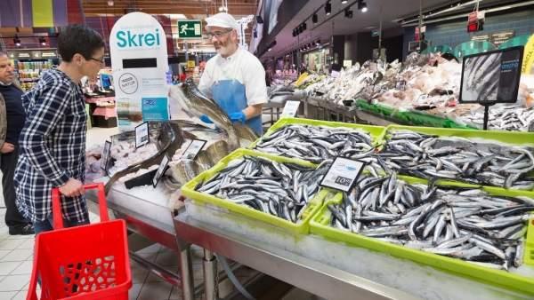 Bocarte. Anchoa. Pescado. Pescadería. Alimentación. Supermercado. Compra. IPC.