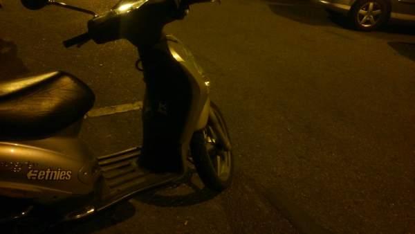 Moto en Sevilla