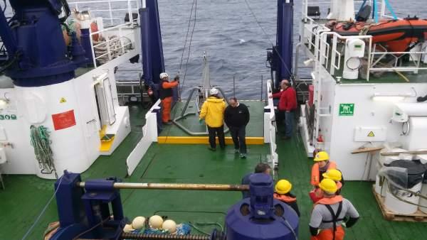 Ministerio Medio Ambiente | Primera Campaña Oceanográfica Life Intemares | Nota