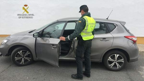 Remitiendo Np Opc Huelva 'La Guardia Civil Recupera Un Vehículo Sustraído En Lér