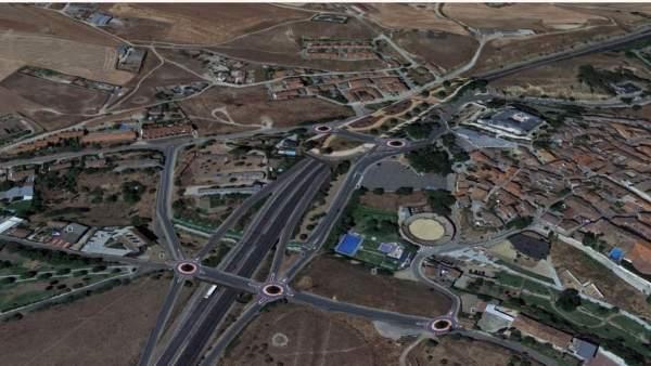 Recreación Virtual del proyecto de soterramiento de la A-62