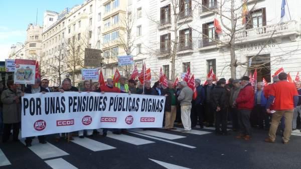 Concentración por las pensiones
