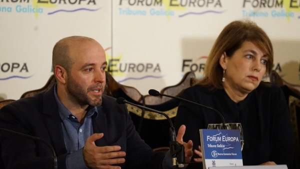 Luís Villares y Alba Nogueira
