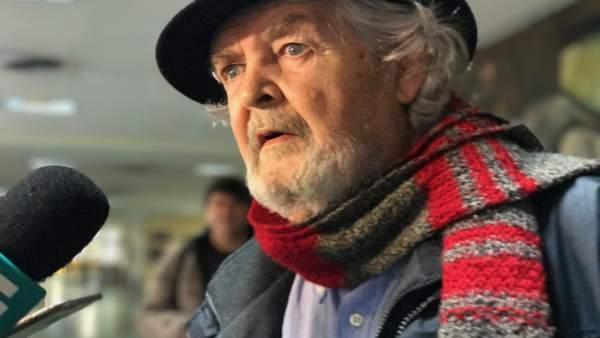 Xosé Manuel Beiras, en declaraciones a los medios