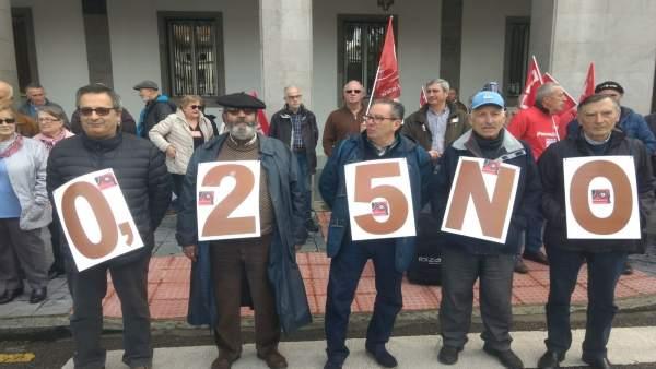 Imagen de la movilización.