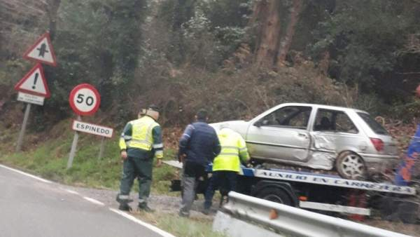 Accidente de tráfico en Asturias