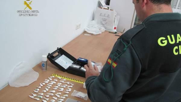 Remitiendo Np Opc Huelva 'La Guardia Civil Desarticula Un Punto De Venta De Drog