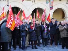 Concentración en defensa del sistema público de pensiones en Teruel