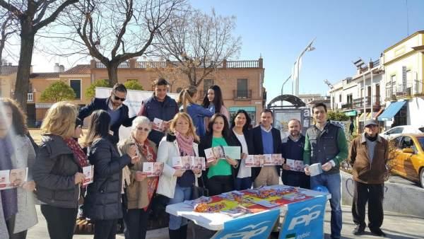 Los populares en Alcalá