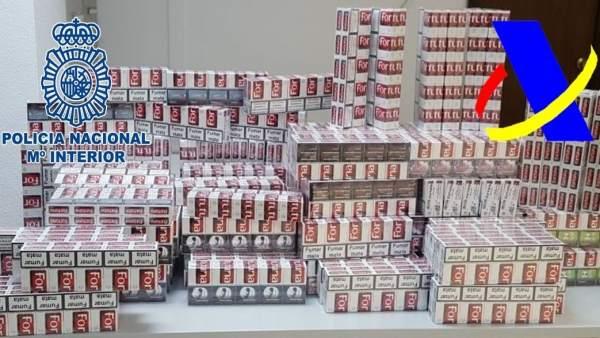 'Intervenidas Más De 1700 Cajetillas De Tabaco En Operaciones Conjunta De Policí