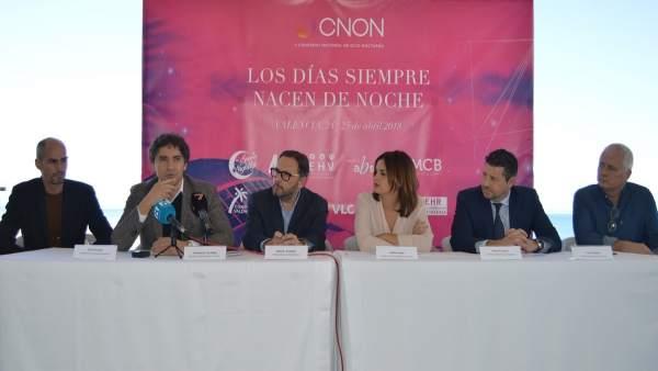 Presentación II Congreso Nacional de Ocio Nocturno (CNON)