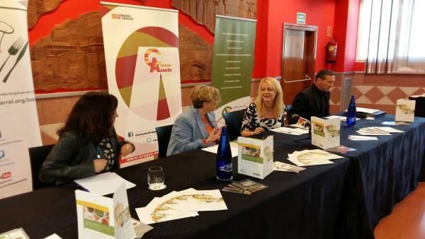 La guía se ha presentado hoy en la Escuela de Hostelería TOPI en Zaragoza